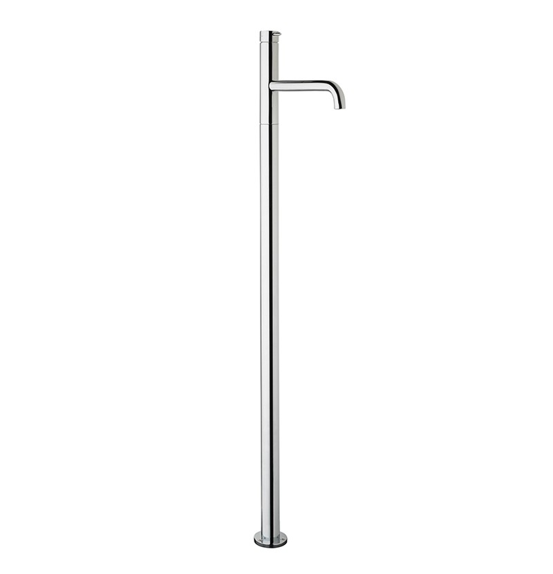 Torneira freestanding lavatório Flow T1.13 cromada