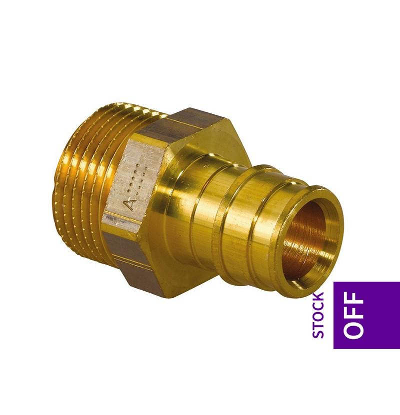 União macho 40x1 Uponor Q&E 1022290