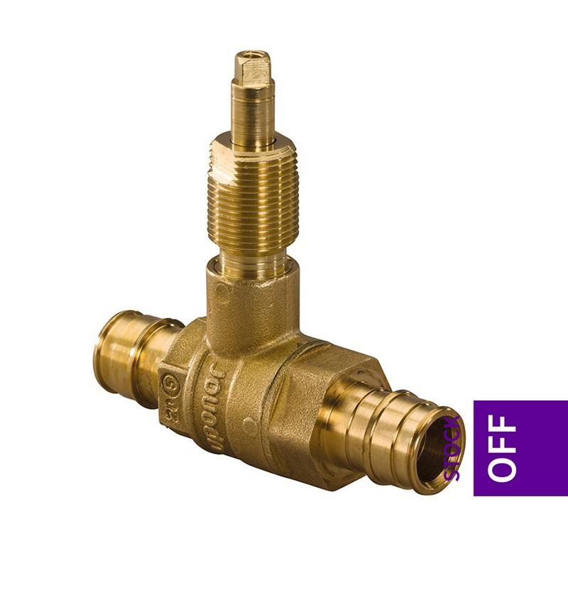 Válvula de corte reta 20x20 Uponor Q&E 1038420