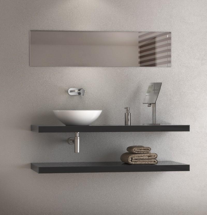 Espelho horizontal 100x30 Chic M1.50H