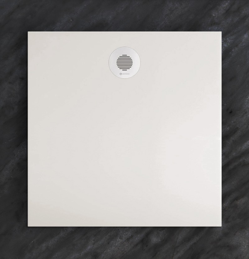 Base de duche 80x80 Flat branco mate