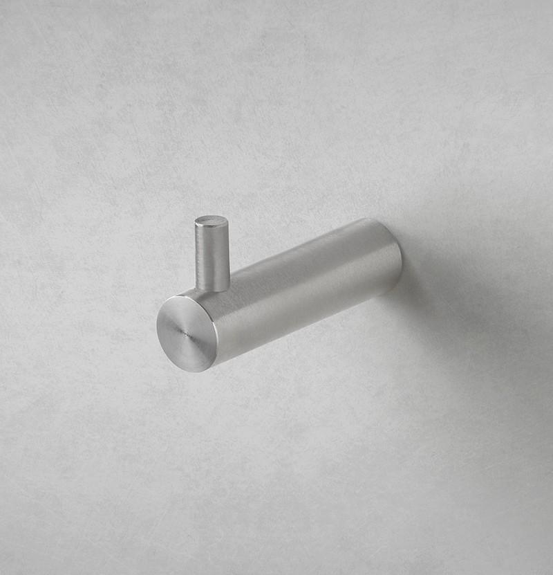 Cabide Flow A1.50 inox escovado