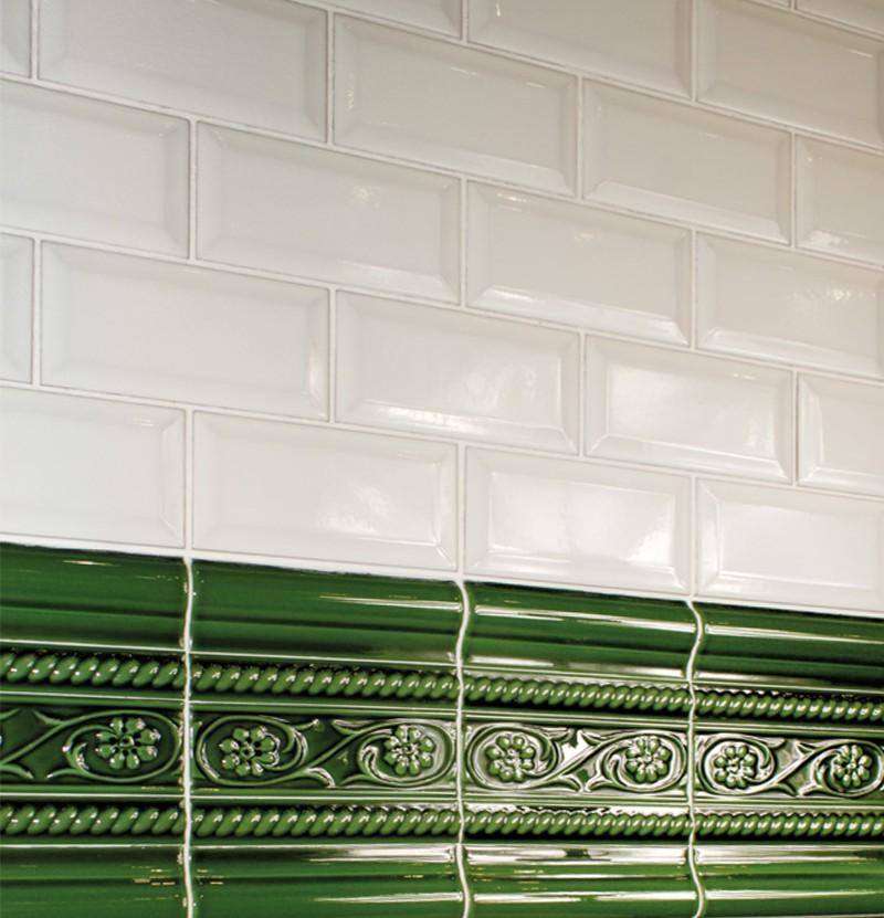 Revestimento 7,5x15 Metro blanco brillo