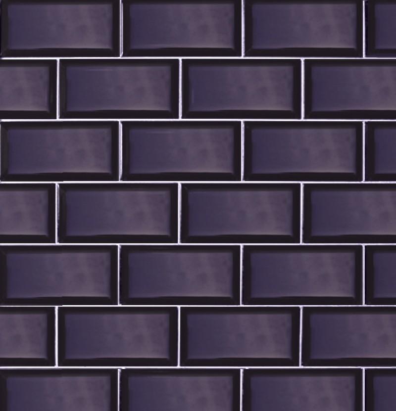 Revestimento 7,5x15 Metro azul cobalto
