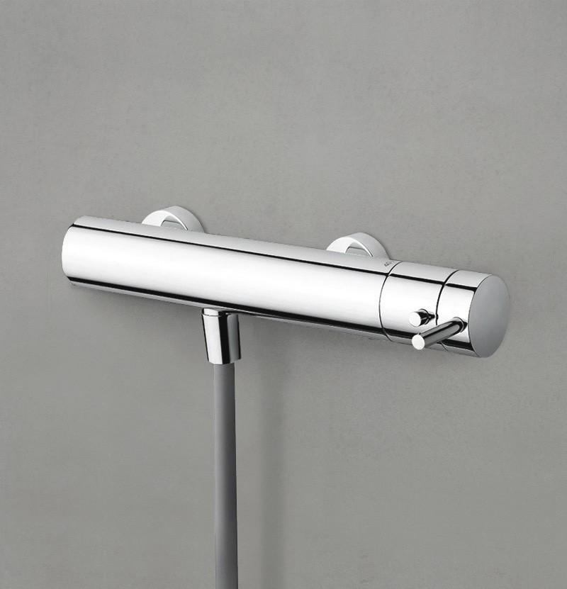 Torneira de banho termostática Flow T1.40T cromada