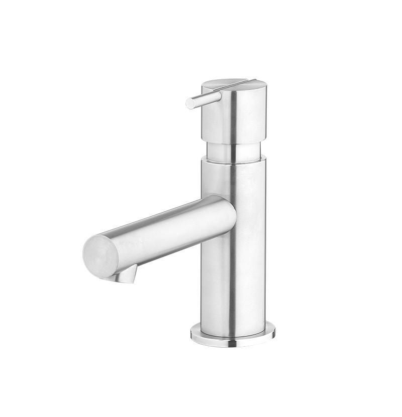 Torneira de lavatório S22 T4.10 inox escovado