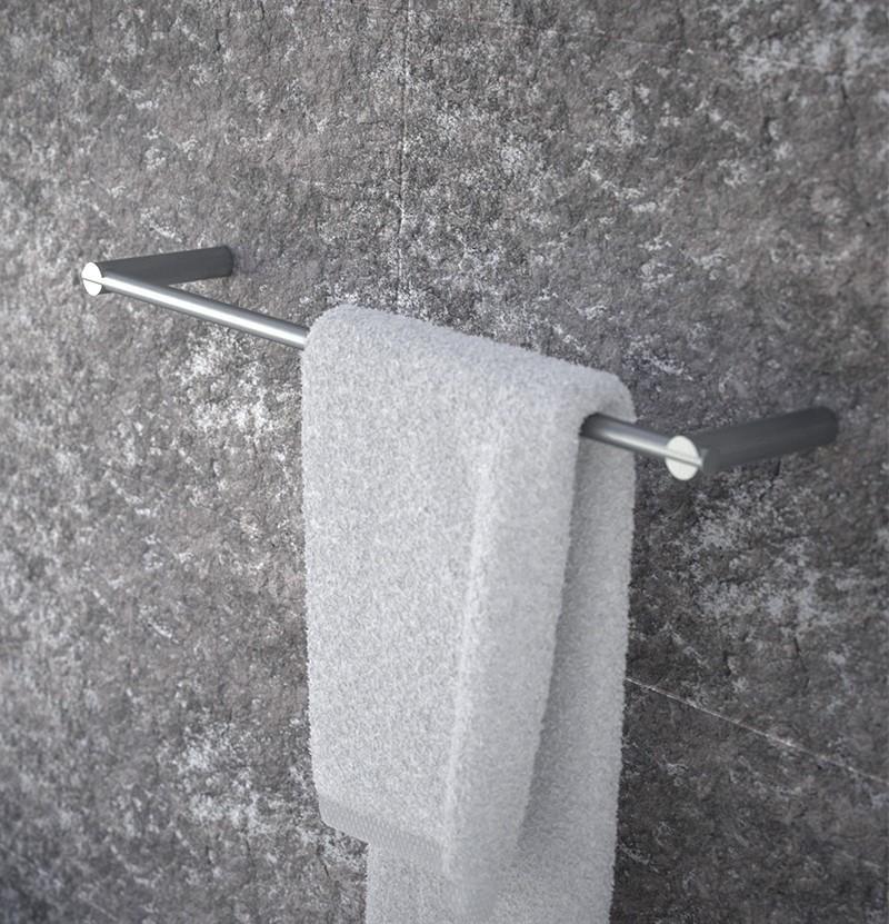 Toalheiro 45 cm S22 A4.12 inox escovado