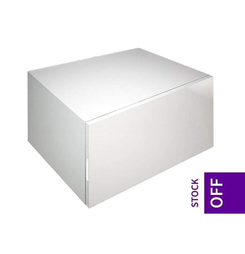 Móvel com gavetas e tampo 90x50x35 Chic branco RAL 9016