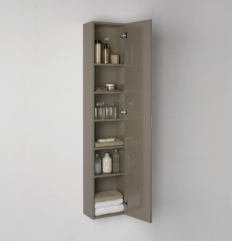 Móvel estante 30x20x152 WE Chic castanho RAL 7006