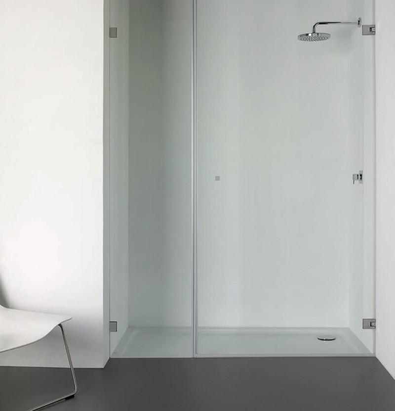 Base de duche 100x75 Time Out branca