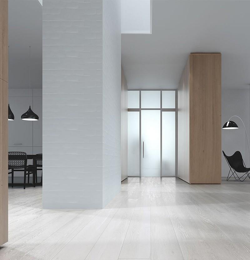 Pavimento 15x90 Lightwood white