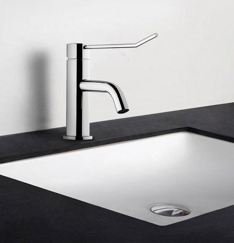 Torneira lavatório hospitalar WE Flow T1.11 cromo