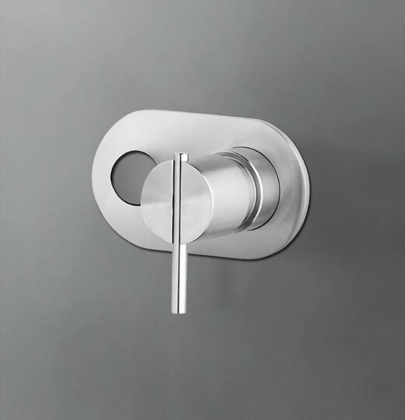 Parte externa torneira lavatório S22 T4.161 inox