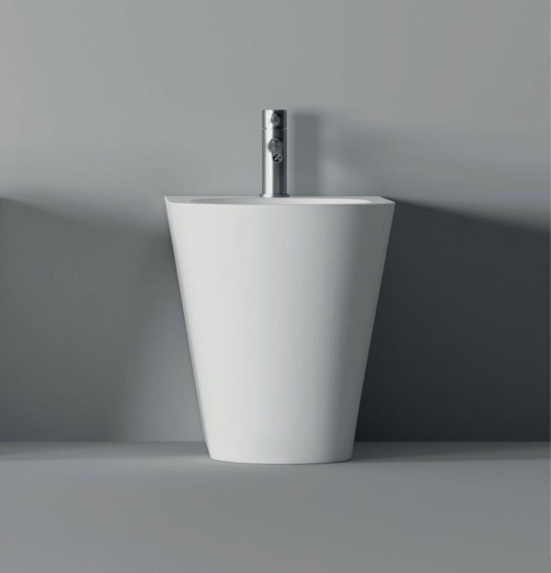 Bidé 57x37 c/ furo Alice Ceramica Hide Round