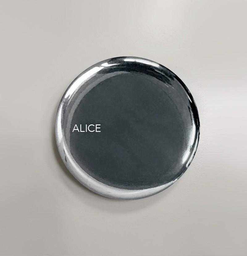 Válvula para lavatório Alice Ceramica cromada