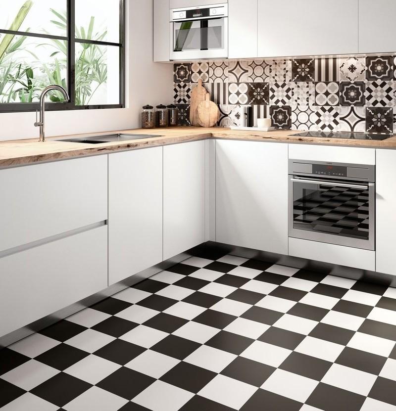 Pavimento/revestimento 20x20 Patchwork white