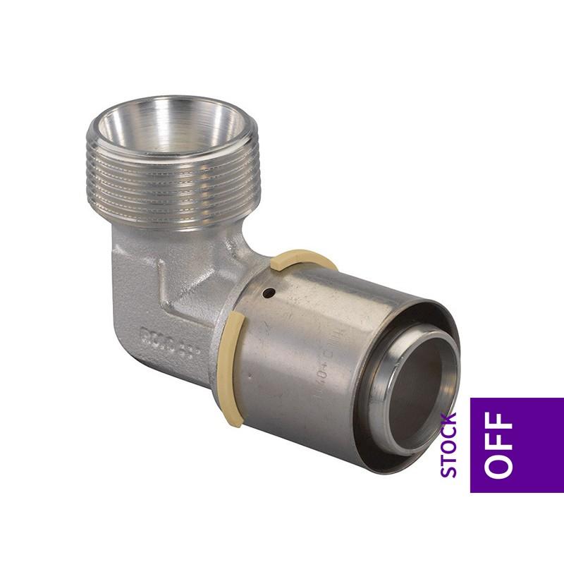 Joelho macho 40x1 1/4 Uponor S-Press 1046909