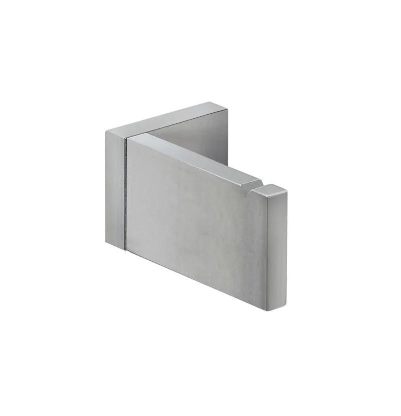Cabide simples Deep A2.50 inox escovado