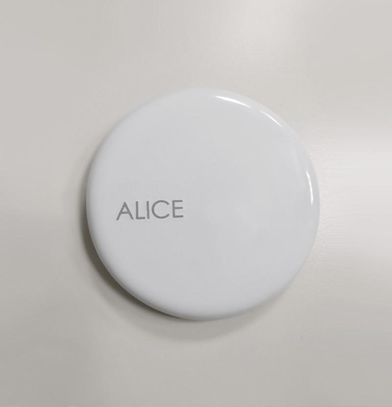 Válvula para lavatório Alice Ceramica branca
