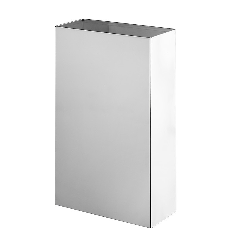 Balde de lixo grande WE Yes P A8.82 inox