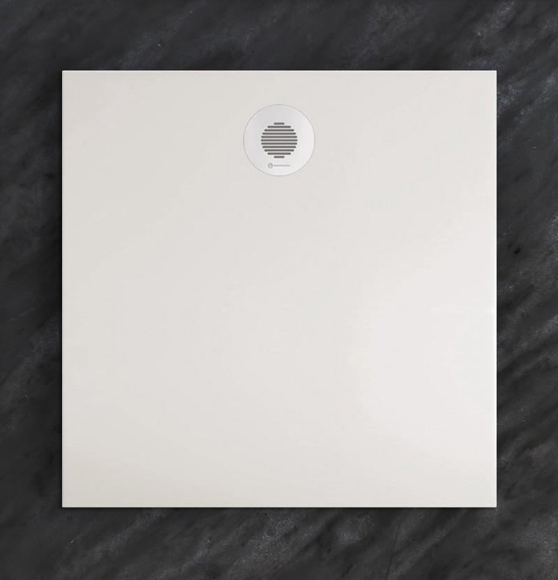 Base de duche 90x90 Flat branco mate