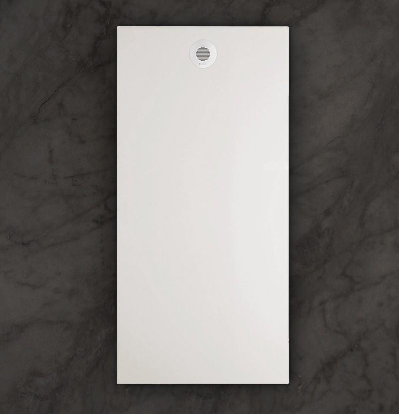 Base de duche 100x80 Flat branco mate