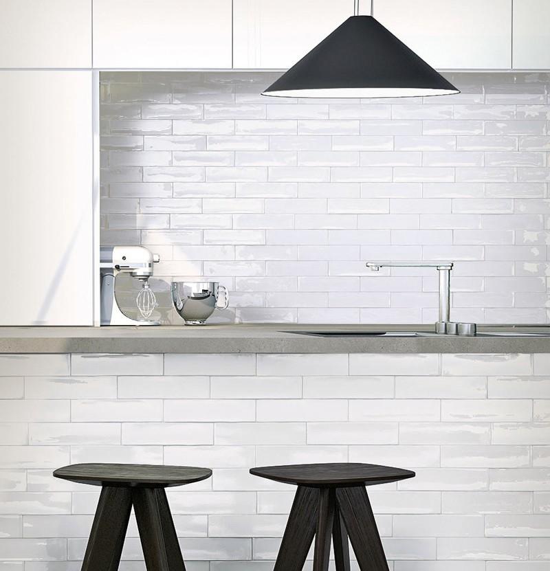 Revestimento cerâmico 7,5x30 Mayolica white