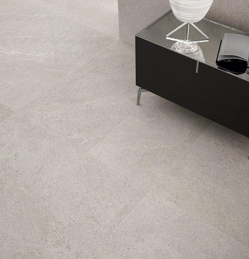Pavimento porcelânico 90x90 Stonelike grey