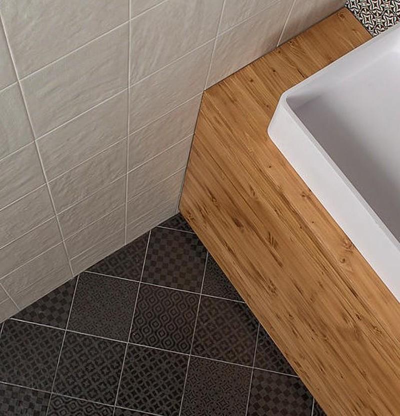 Pavimento cerâmico 22,3x22,3 Square trento bianco