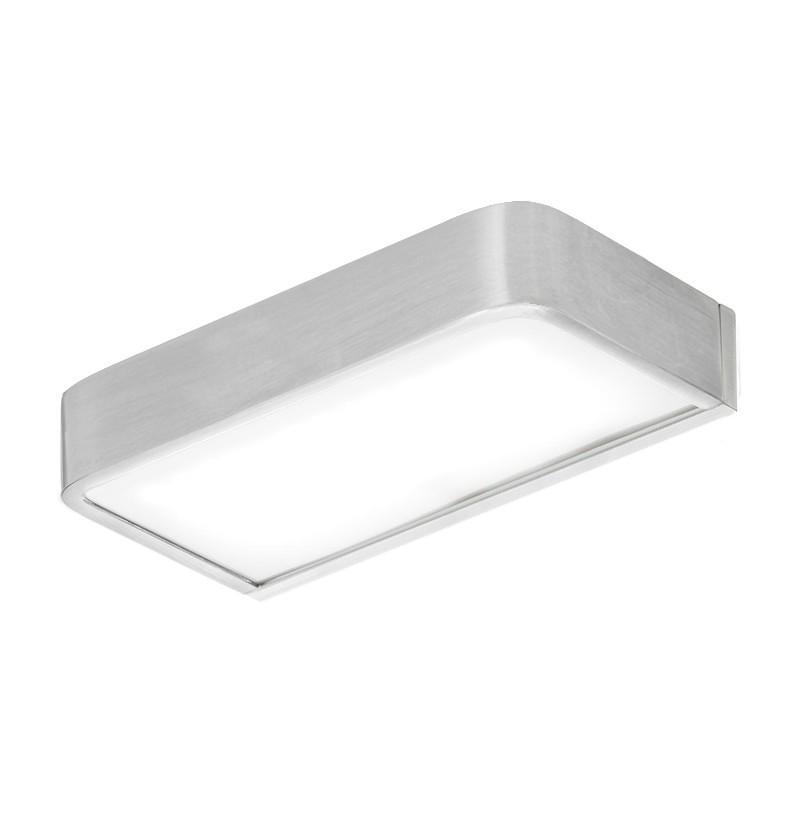 Aplique de iluminação WE Deep A2.95 inox escovado