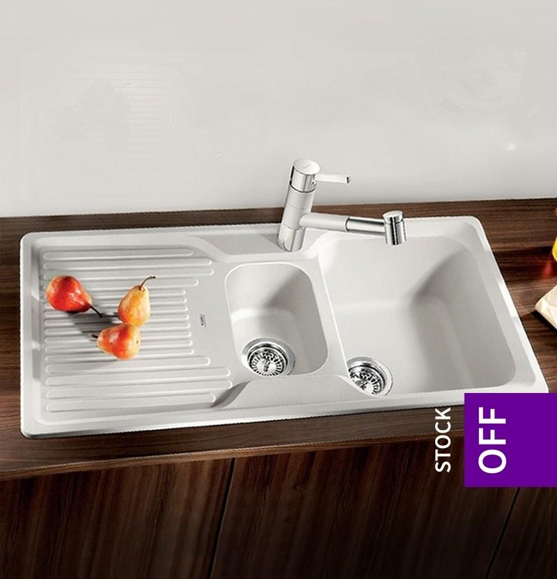 Banca de cozinha Blanco Classic 6S branca