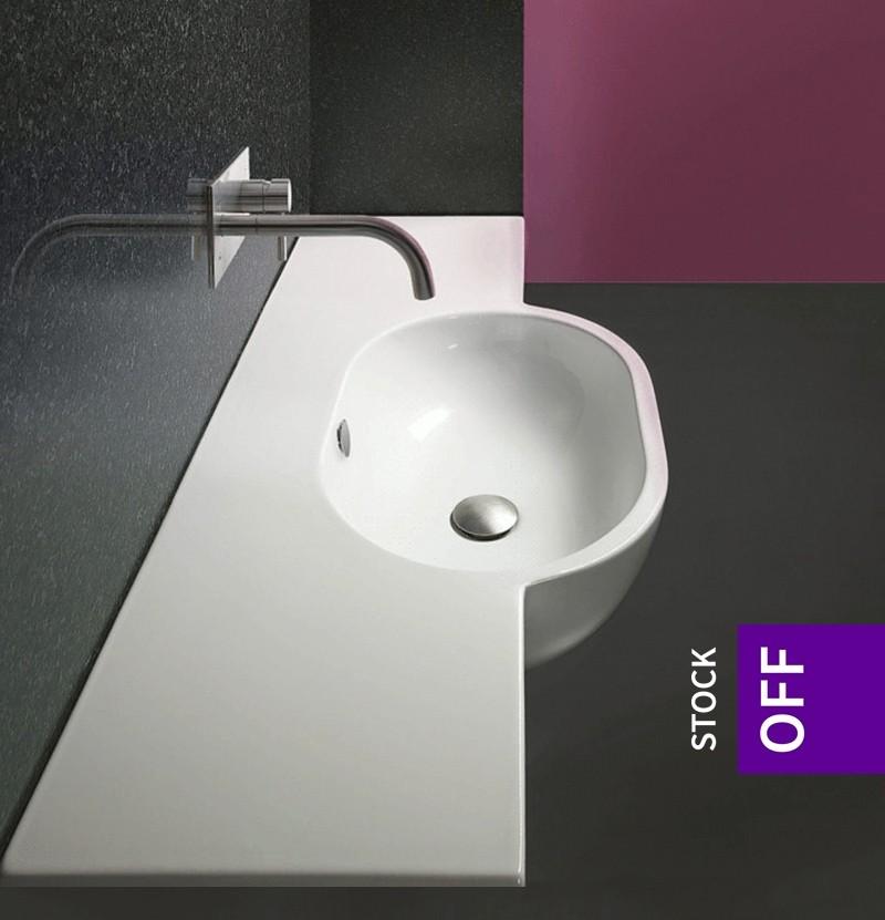 Lavatório 120x48 Catalano Sfera 120 branco brilho