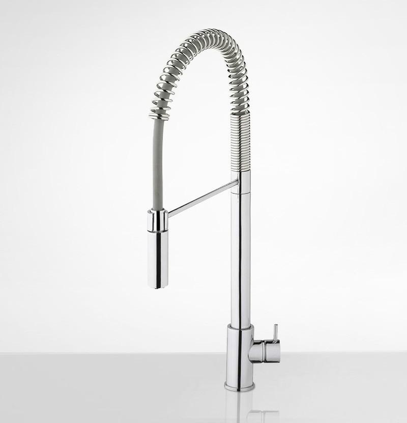 Torneira de cozinha c/ chuveiro Flow T1.57 cromada