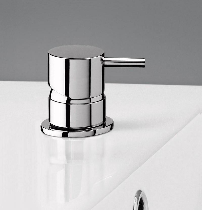 Torneira de lavatório de bancada Flow T1.14 cromada