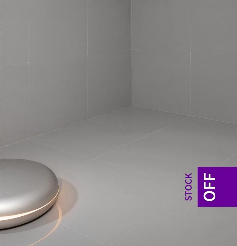 Pavimento porcelânico 60x60 WE Smooth cinza