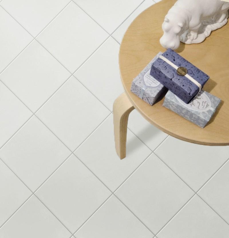 Pavimento hidráulico 20x20 1900 blanco