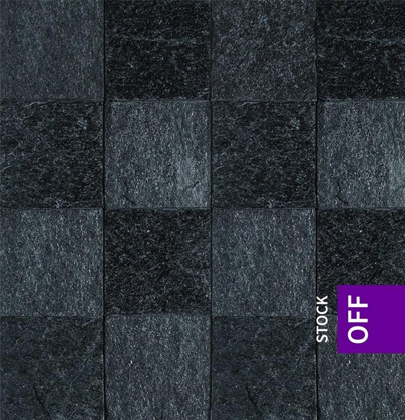 Revestimento 10x10 Stone Evolution Reflect preto