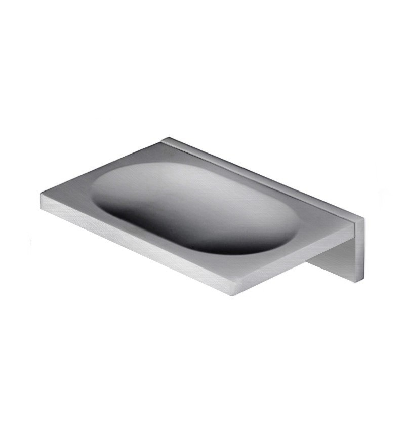 Saboneteira de parede Deep A2.21 inox escovado