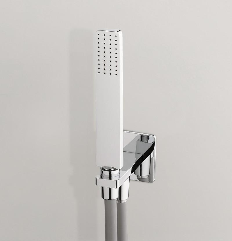 Chuveiro c/ suporte fixo I Tap T6.621 cromado