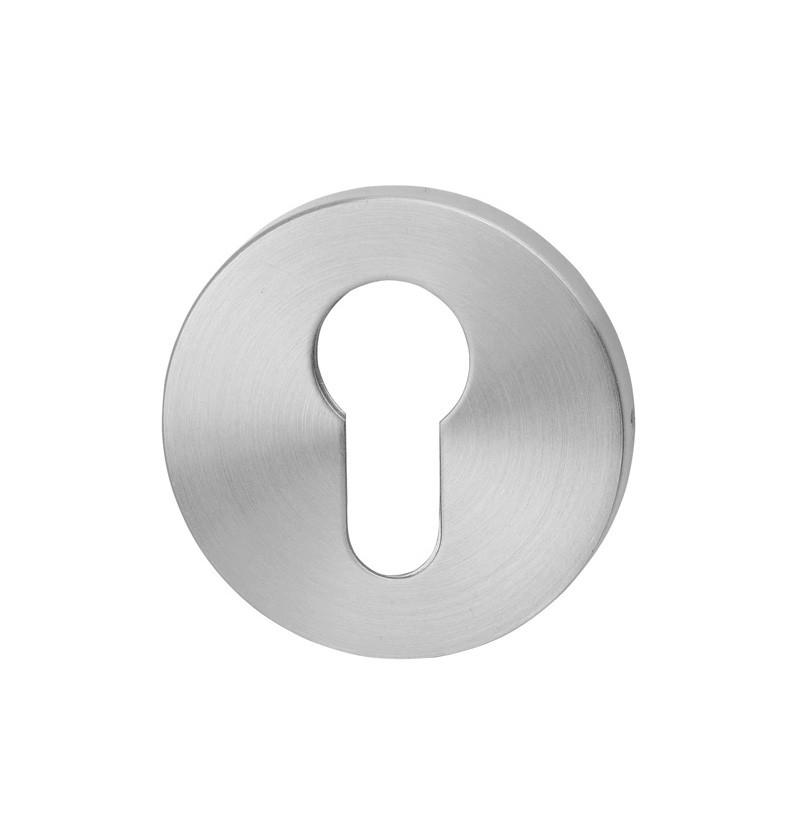 Entrada de chave Ø50 Yale large dupla S22 inox escovado