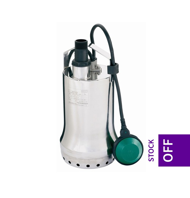 Bomba submersível para bombeamento de águas sujas