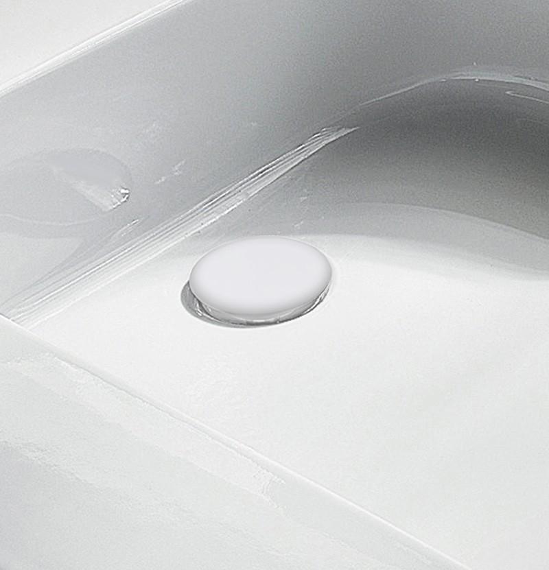 Válvula para lavatório Flow M1.99.VAL1 branca