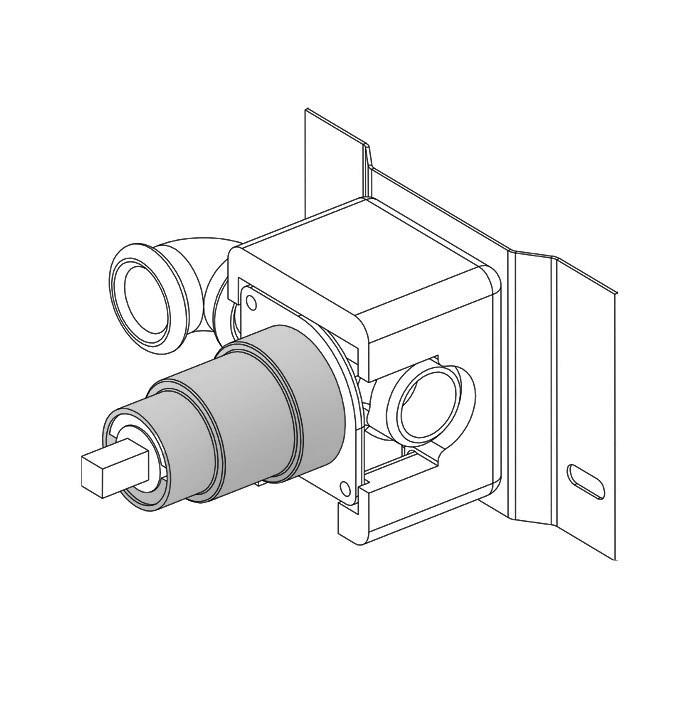 Parte interna torneira lavatório S22 T4.161 inox