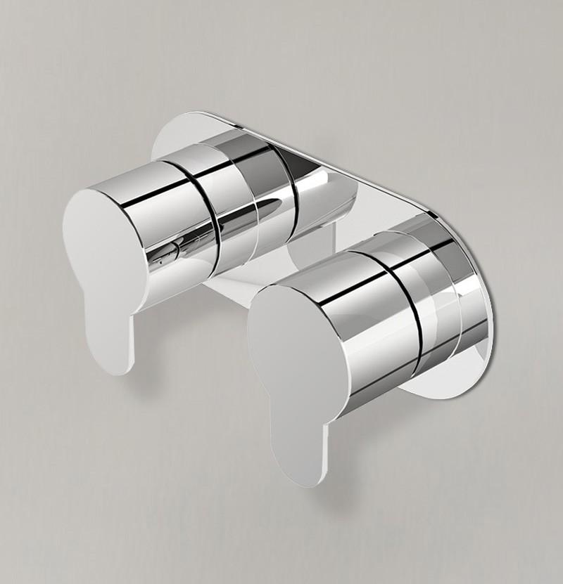 Torneira encastrar p/ banho WE Clip T9.36 cromo