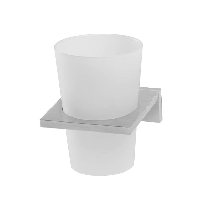 Porta copos/escovas de parede WE Deep A2.27 inox