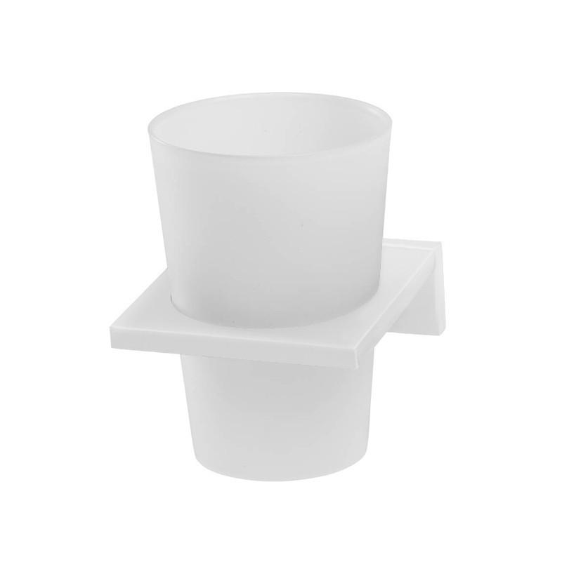 Porta copos/escovas de parede WE Deep A2.27 branco