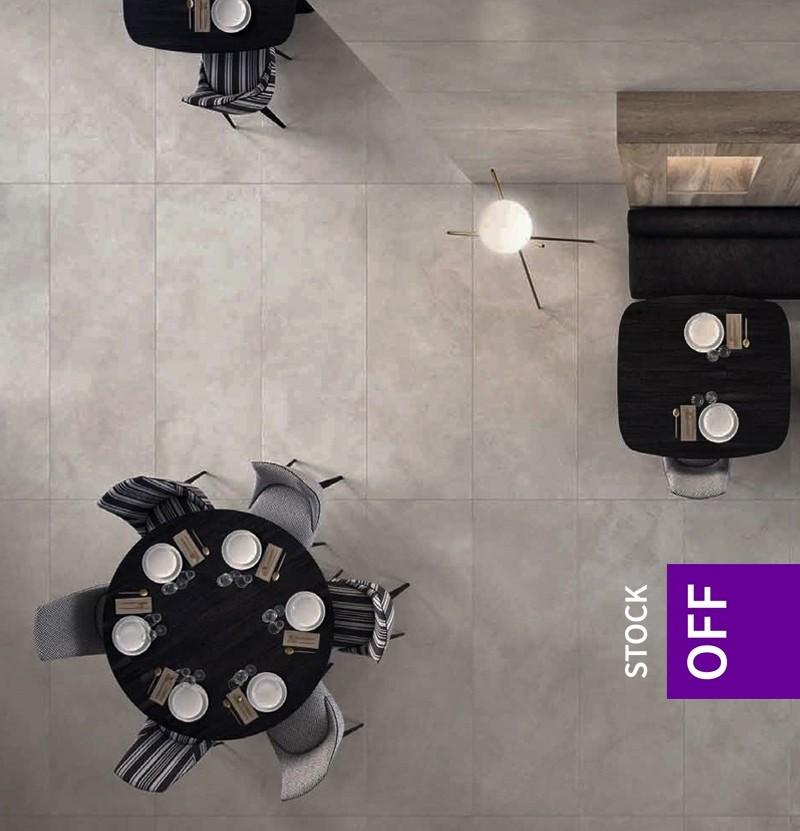 Pavimento/revestimento 80x240 Florim Magnum cemento