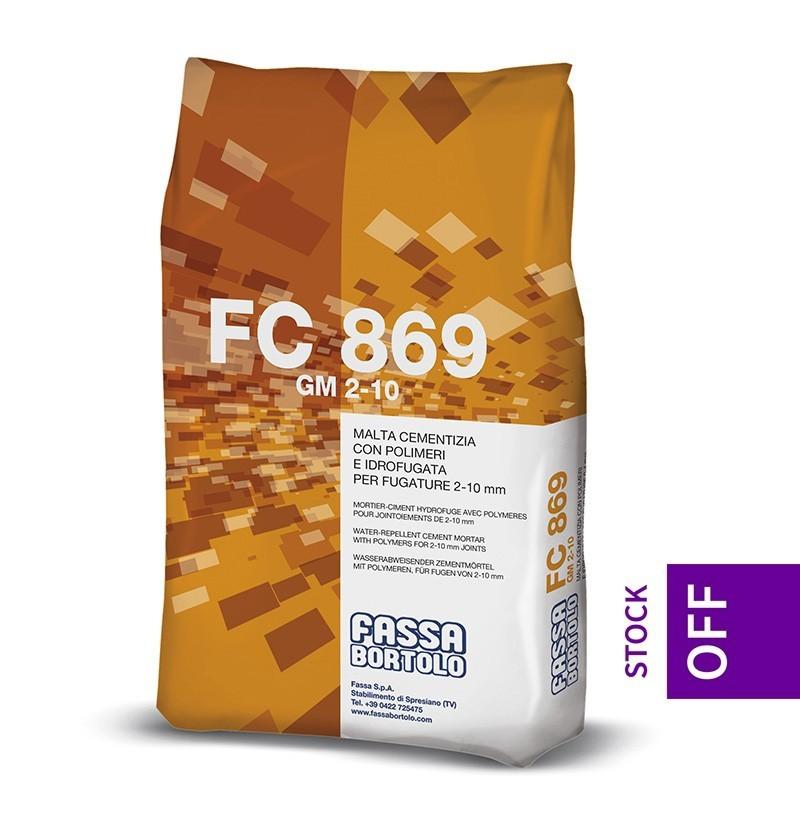Betume para juntas Fassa Bortolo FC 869 areia