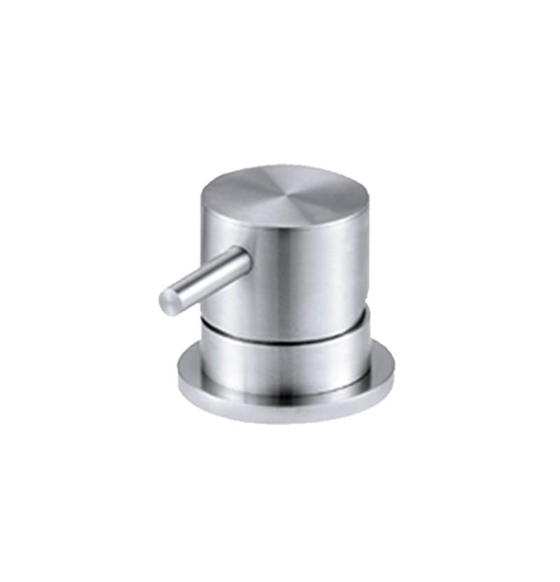 Torneira lavatório de bancada WE Flow T1.14 inox escovado