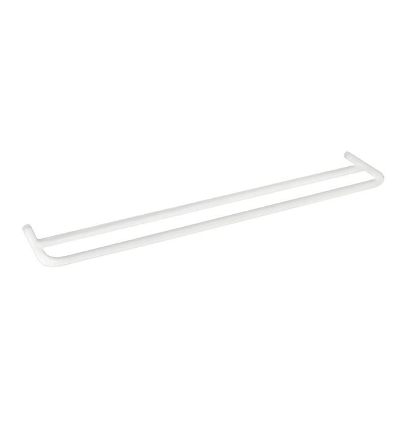 Toalheiro duplo 60 cm Flow A1.12D branco